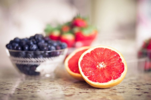 My favorite Grapefruits and Berries