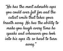 crush, falling in love, him, love, love quotes