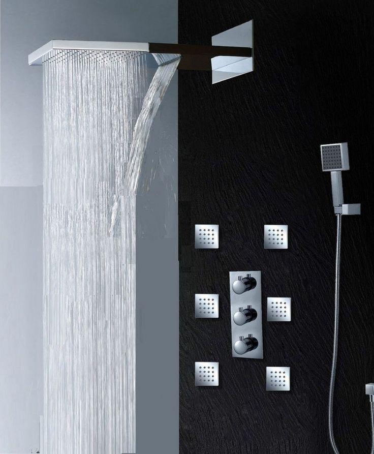 The 25+ best Rain shower bathroom ideas on Pinterest | Rain shower ...
