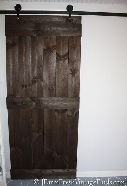 Best 25 diy sliding barn door ideas on pinterest for Hanging a sliding barn door