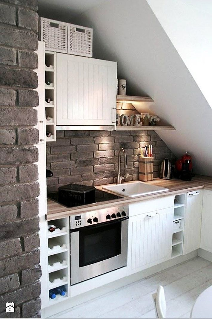 21 Intelligent ways to decorate your attic kitchen with ease