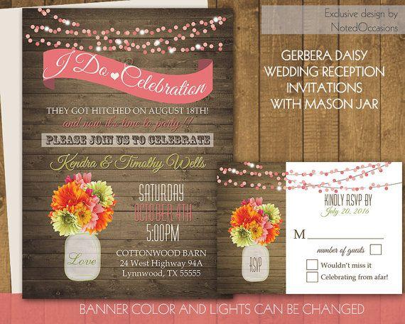 i do bbq wedding reception invitation wedding reception only invitations with a rustic mason