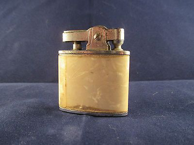 Vintage 1960's Atlas Lite OMC Faux Mother of Pearl Encased Lighter