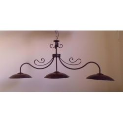 Wrought Iron Chandelier. Customize Realisations. 213