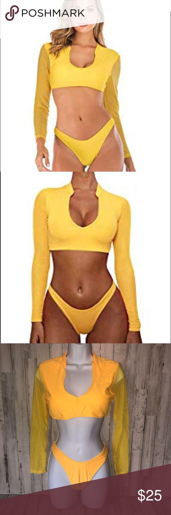 lewis yellow bikini Autumn