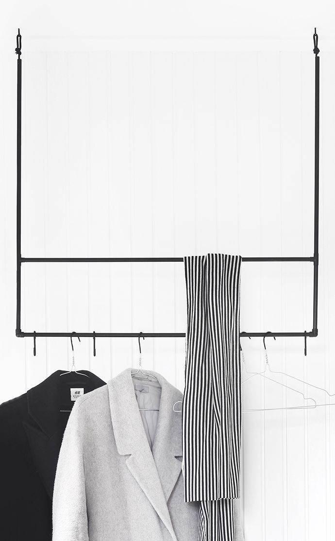 DIY coat/towel rack by MyDubio