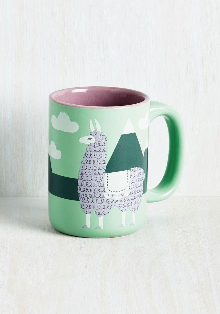Tabletop - Alpaca a Punch Mug #unique #mugs #houseware #kitchen #ceramic #cups