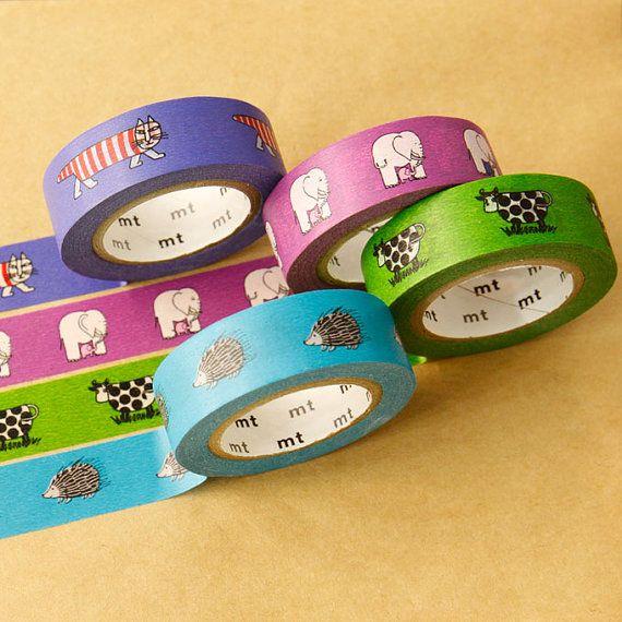 MT masking tape - Lisa Larson  - Washi Tape