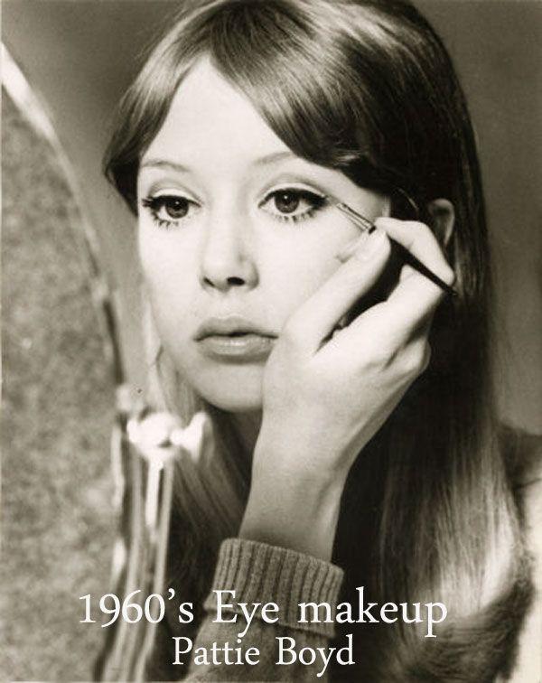 Les 326 meilleures images du tableau 60s makeup trends sur - Maquillage annee 60 ...