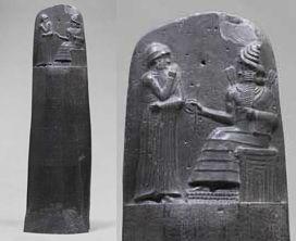 El Código de Hammurabi (Babilonia). Museo del Louvre, París, Francia.