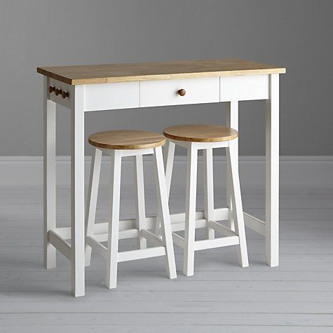 Adler Bar Table Amp Stools White Oak John Lewis Stools