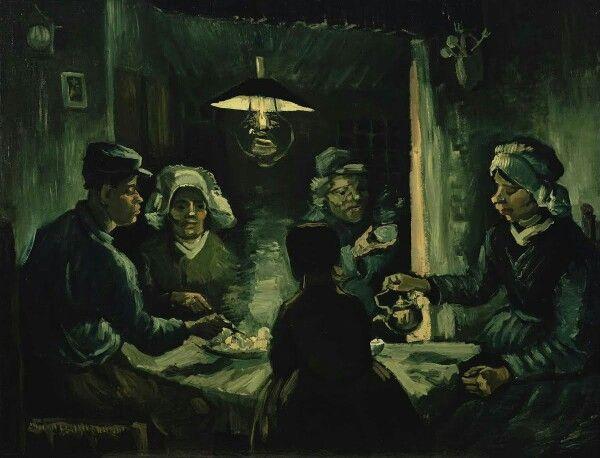 Vincent Van Gogh -> Mancatorii de cartofi