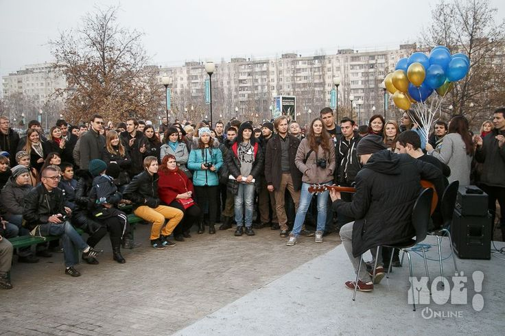 "Открытие памятника лидеру группы «Король и Шут» в Воронеже / Unveiling of the monument to the leader of the ""King and the Clown"" in Voronezh"