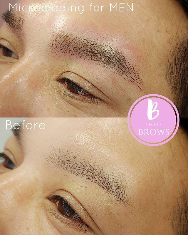 Microblading Vancouver By B For Brows With Images Sparse Brows