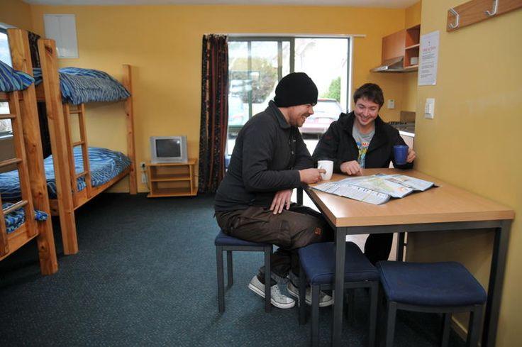 Dorm rooms at The Purple Cow, Wanaka, New Zealand