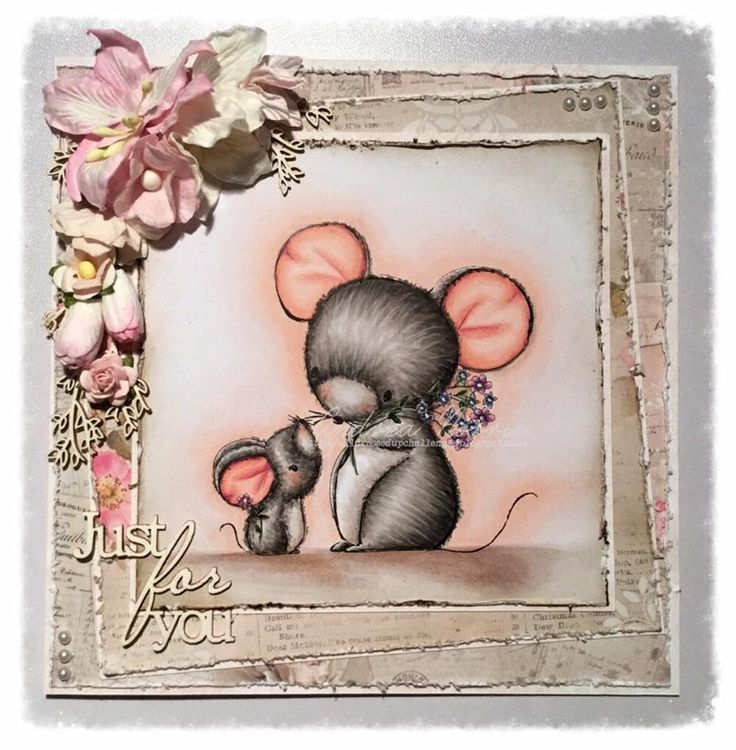 DT Inspiration - Two Little Mice - https://alldressedupchallenges.blogspot.co.uk/2018/03/march-2018-new-release-part-1.html