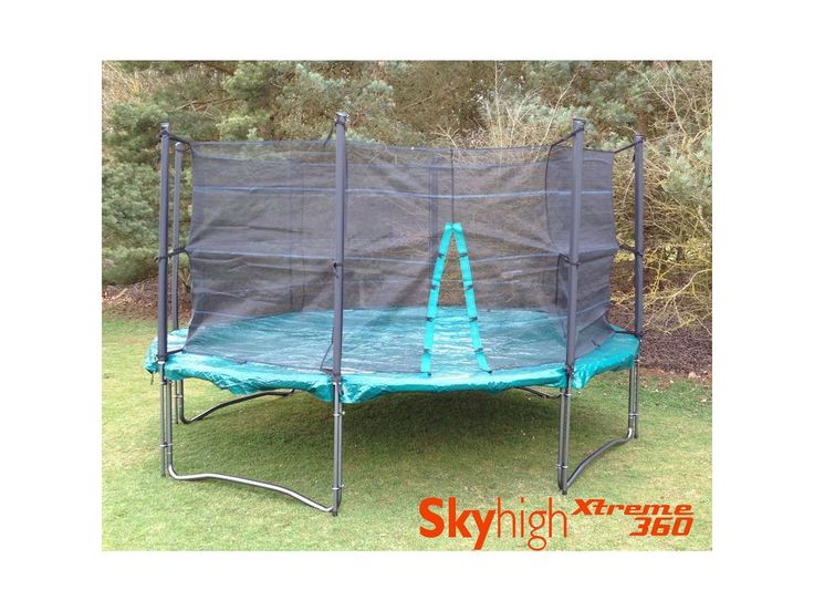 Skyhigh Xtreme 360 14ft Trampoline with Enclosure and Cover