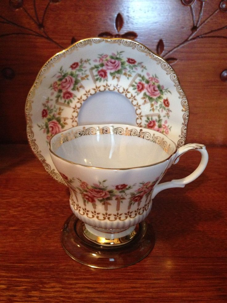 Royal Albert - Green Park Series 1960's-70's. Cup in the Chelsea shape. Researched Value $39.99.