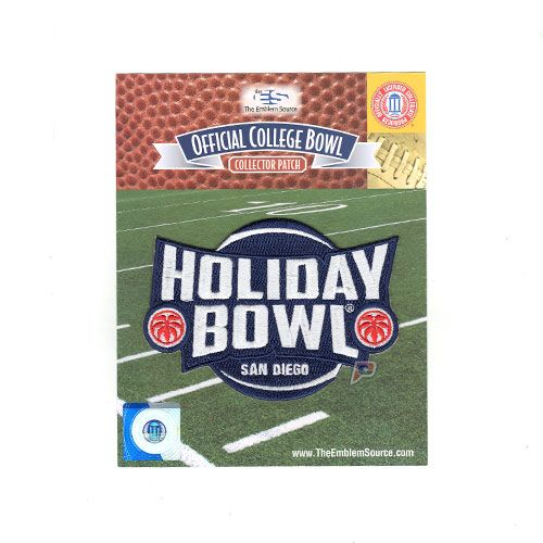 Holiday Bowl San Diego Jersey Game Patch Wisconsin vs. USC (2015)