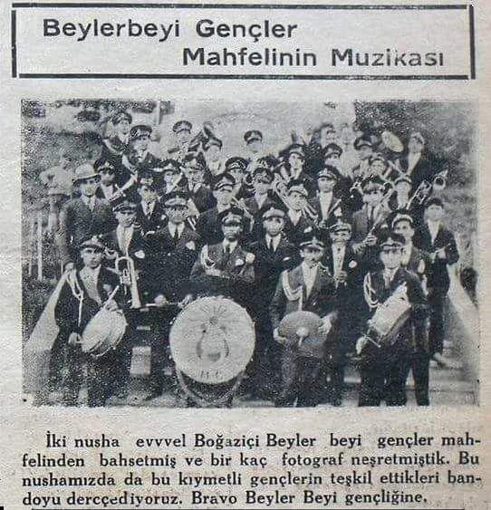 """""""Beylerbeyi Gençler Mahfelinin Müzikası""""  #birzamanlar #istanlook"""
