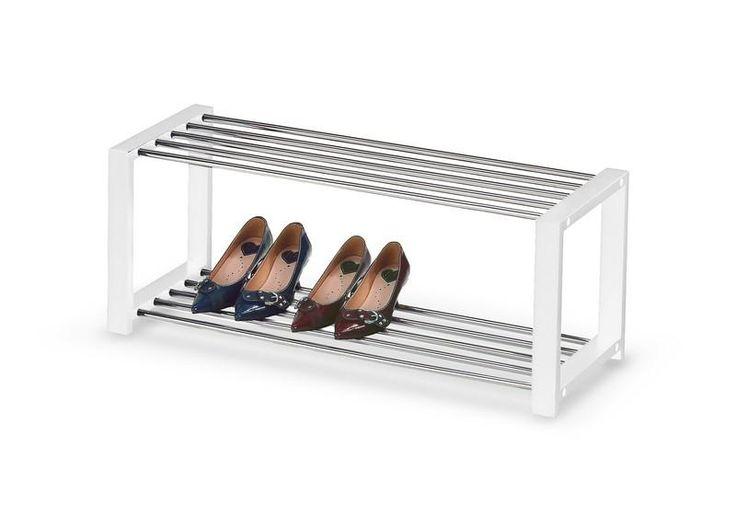 Nowoczesna szafka na buty, stojak regał ST2 biały (5064821100) - Allegro.pl - Więcej niż aukcje.