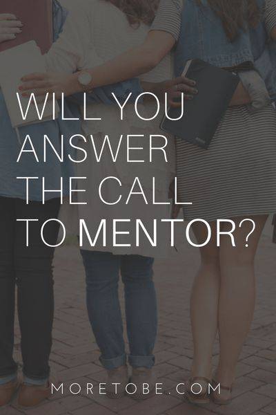 Will you answer the call to mentor? We can help you step into one of the most rewarding roles you may ever experience.
