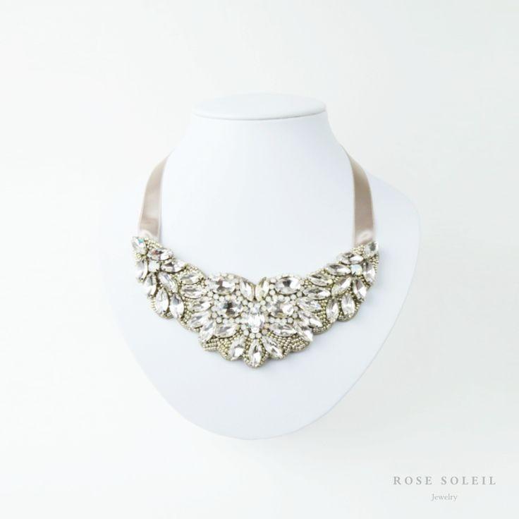 Rose Soleil Jewelry Bridal Collection | ローズソレイユジュエリーブライダルコレクション | クリスタルネックレス