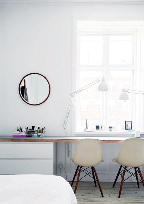 Efficient white home in Copenhagen - emmas designblogg