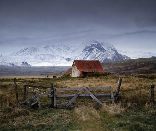 Beautiful Barn Backdrop