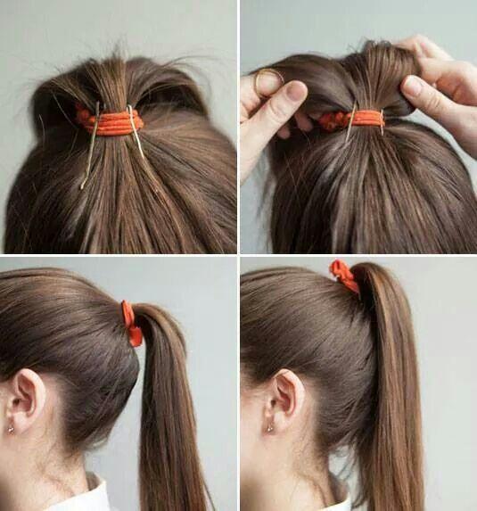 Las 25 mejores ideas sobre cola de caballo de volumen en pinterest estilos de cabello - En que meses se cae mas el pelo ...