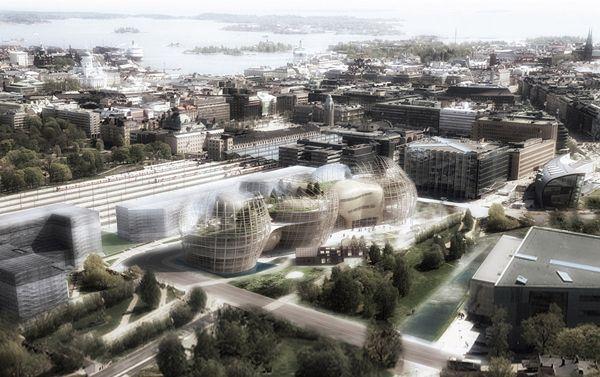 Helsinki Library Proposal / Djuric Tardio Architectes