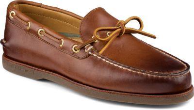 Sperry Gold Cup Authentic Original 1-Eye Boat Shoe Tan/Gum, Size 10.5M Men's Black Friday