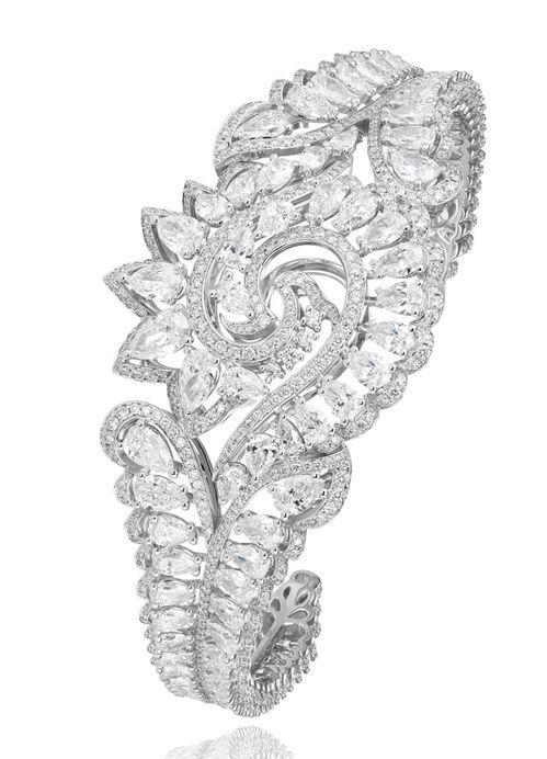 Cannes 2015 Le bracelet Red Carpet en diamants de Chopard