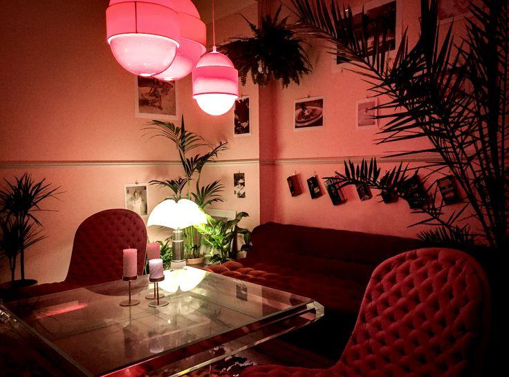 Slacker Couch at Cafe Dornonville : Coffee & Tea Lounge in Malmö, Sweden