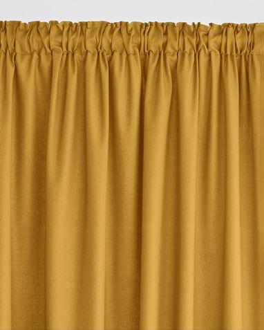 La Redoute Intérieurs Lysdempende gardin i fargene Mørk grå, Muldvarp, Svart, Blå, Natur, Lys rosa, Hvit, Lys grå, Lys brun, Oransje, Grå, Gul, Rød, Korallrød, Mintgrønn innen $GenderDepartment - Gardiner - La Redoute
