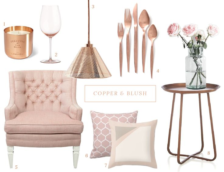 185 Best BLUSH PINK / ROSE GOLD / DUSTY PINK / COPPER