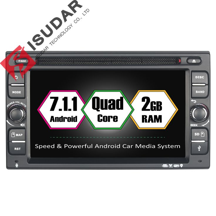 Android 7.1.1 Two Din 6.2 Inch Car DVD Player For Universal/Nissan/PALADIN/QASHQAI/X-TRAIL/Sunny RAM 2G GPS Navigation Radio //Price: $288.89 & FREE Shipping //     #dashcam