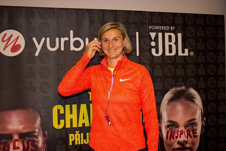 Bara Špotáková - Yurbuds na Zlatá tretra Ostrava 2015