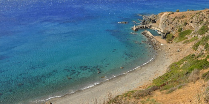 Klimata Beach in Rodakino, Rethimno, Crete