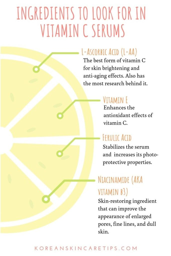 Vitamin C Serums What Ingredients Should Your Vitamin C Serum Contain Vitamin C Serum Organic Skin Care Routine Skin Treatments
