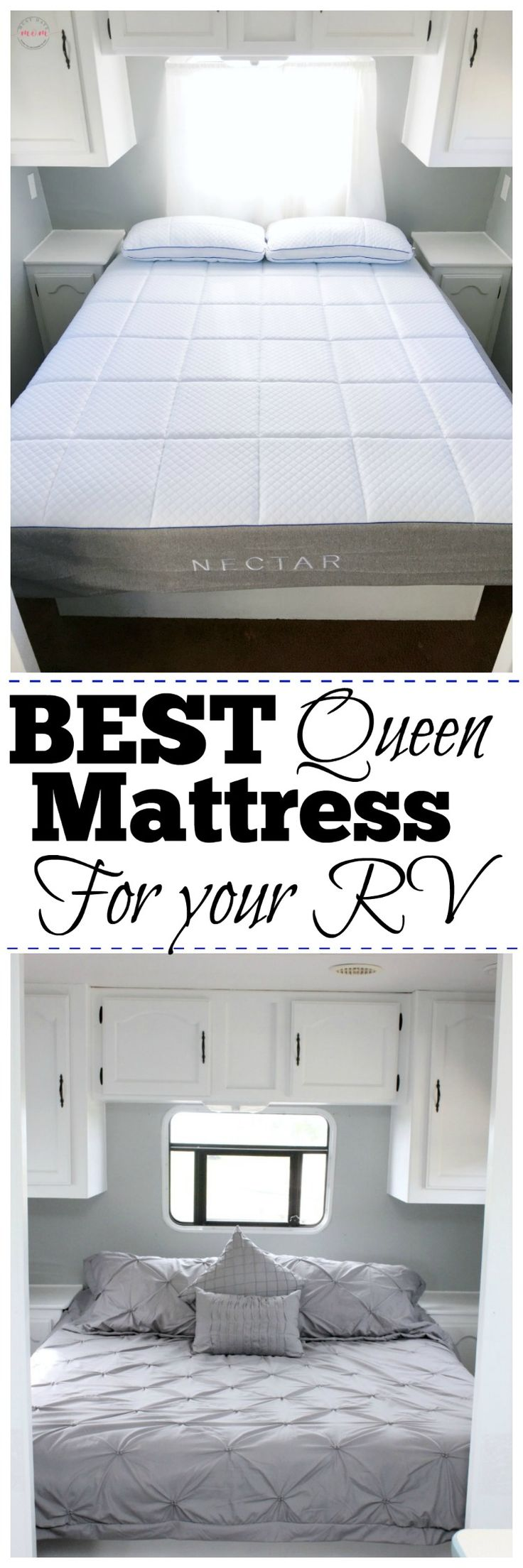 Best RV Mattress and why we ordered online! Get the best mattress 2017! #NectarPartner