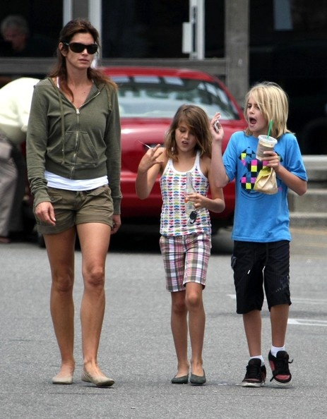 cindy crawford and kids