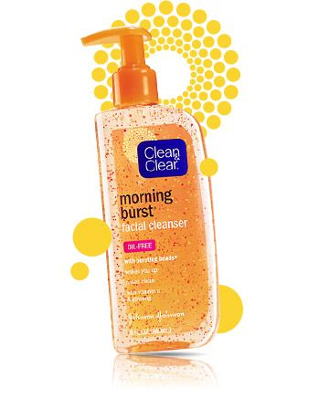 MORNING BURST® Facial Cleanser by Clean & Clear. I am in LOVE with this! It's pretty much the best face wash ever.