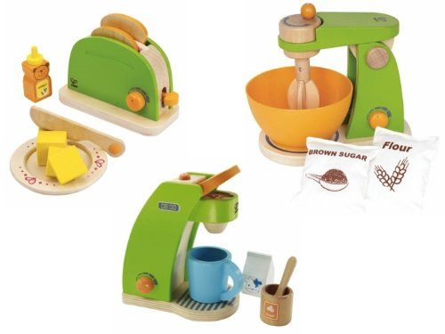 Hape Pop-Up Toaster, Coffee Maker & Mighty Mixer Set Hape,http://www.amazon.com/dp/B007SYH4C8/ref=cm_sw_r_pi_dp_8ABQsb0C04XCW2AF