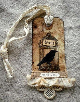 Vintage con lacci: un sacco di uccelli e qualche mercato delle pulci