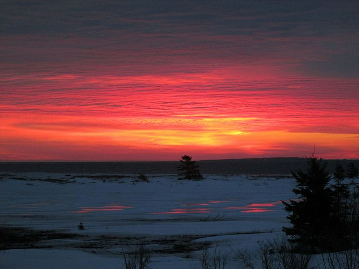 Early riser?! You'll be sure to catch a good sunrise during your stay http://www.cabotshores.com/