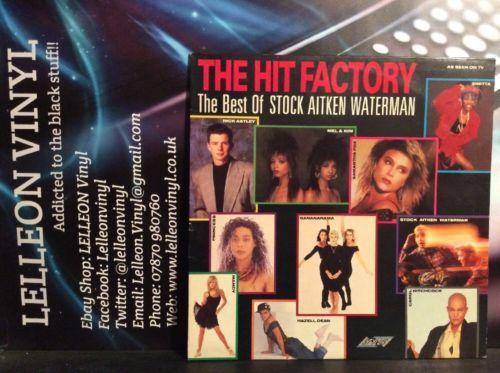 The Hits Factory Compilation LP Album Vinyl Record SMR740 Pop 80's Music:Records:Albums/ LPs:Pop:1980s