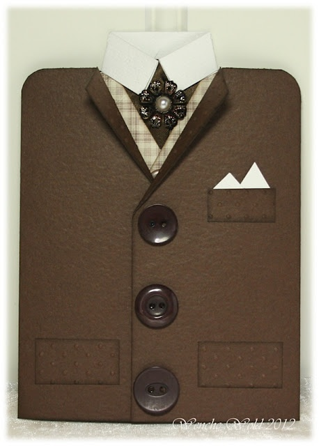 jacket card--great for the men in your life!