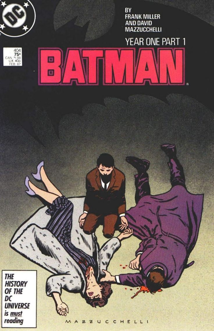 Frank Miller's Batman Year One drawn by David Mazzucchelli. Published by DC Comics and one of my favorite series about Batman!