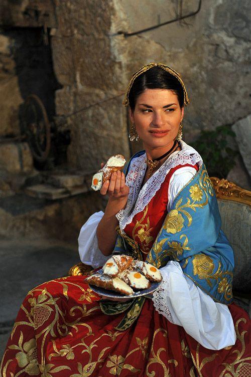costumi nazionali italiani - Sicilia